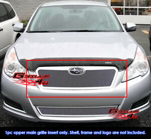 Fits Subaru Outback Stainless Steel Mesh Grille 10 11 2011