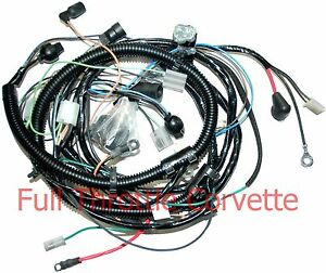 1973 Corvette Wiring Harness Forward Lamp Us Made Reproduction C3 New