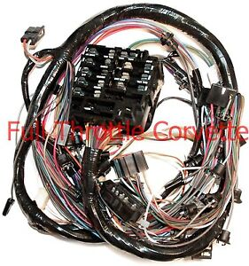 1968 Corvette Dash Wiring Harness New