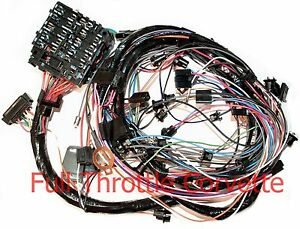 1976 Corvette Dash Wiring Harness For Vettes With Automatic Transmission New