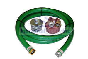 2 Heavy Duty Water Suction Discharge Hose With Pinlug