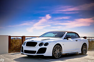 Bentley Continental 04 12 Gt gtc Full Body Kit Front rear Bumper Side Skirts