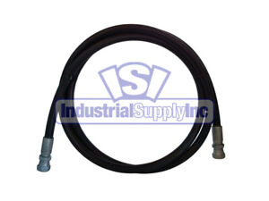 Hydraulic Hose 2 Wire 1 2 X 168 With Female Jic 100r2at 8
