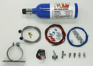 Nitrous Oxide Motorcycle Kit For Dragbike Nos Nitrous Kit New