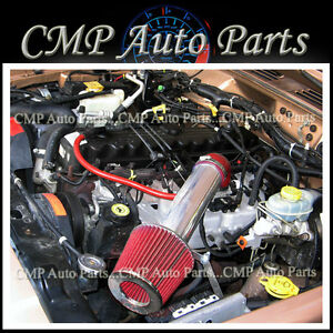 Red 1997 2004 Jeep Grand Cherokee 4 0l I6 Air Intake Induction Kit Systems