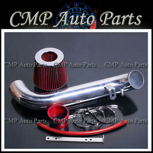 Red Air Intake Kit Fit 1995 1999 Eclipse 2 0l Rs Gs Non Turbo Nt