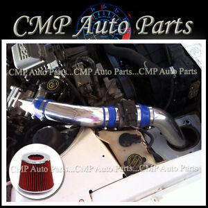 Blue Red 1990 1995 Ford Thunderbird 3 8 3 8l Supercharged V6 Air Intake Kit