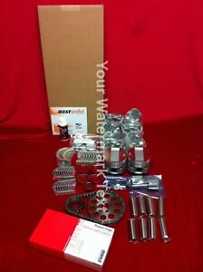 Chrysler 331ci Hemi Master Engine Kit 1955 Pistons Bearings Rings Gaskets Timing