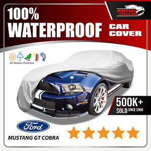 Ford Mustang Gt Cobra 6 Layer Car Cover 2006 2007 2008 2009 2010 2011 2012