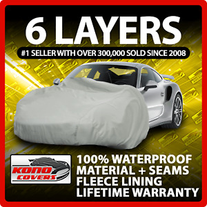 Chevrolet Corvette C6 6 Layer Waterproof Car Cover 2005 2006 2007 2008 2009