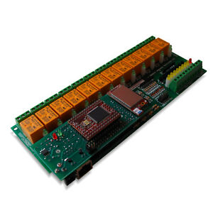 Wifi 802 11 Wireless 12 Channel Relay Module I o Board Web Tcp ip Vb6 Bcb6