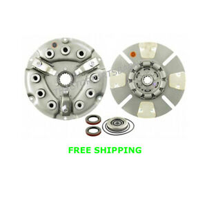 Ih Case Farmall 10 1 2 Clutch Disc Pressure Plate Kit 300 320 350 460 544 606