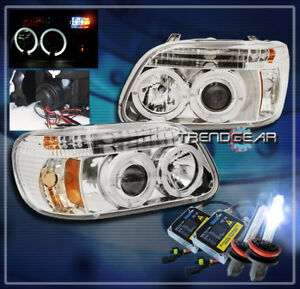 1995 2001 Ford Explorer Halo Led Projector Headlight Hid 8k Clear 1998 1999 2000