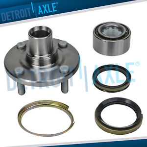 Front Driver Or Passenger Wheel Bearing Assembly For Toyota Corolla Chevy Prizm