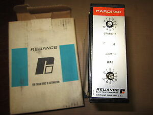 New Reliance Electric 0 49011 11 Cardpak 049001111 Stability Driver