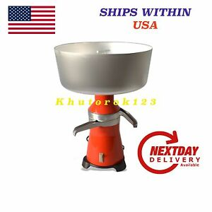 Cream Separator 80l h Electric 18 Metal 120v Usa ca Plug Ship Free From Usa
