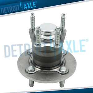New Rear Complete Wheel Hub And Bearing Assembly For Cobalt G5 Ion No abs 4 lug