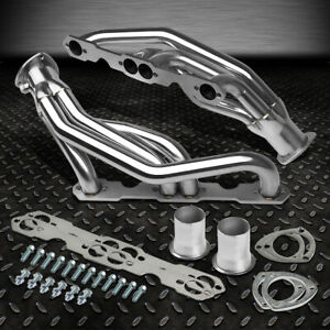 Stainless Racing Header Exhaust Manifold 88 97 Chevy Gmc 5 0 5 7 V8 C K Pick Up
