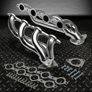 For 02 13 Escalade hummer H2 Stainless Steel Performance Exhaust Header Manifold