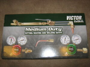 Item 606 victor Cutskill Medium Duty Welding Outfit Oxy Acetylene Torch