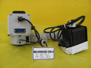 Nikon Microscope Turret Optistation 3 Untested As is