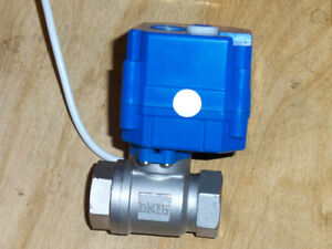 Us Filtermaxx 1 2 Inch Npt Ss Electric Ball Valve Wvo Biodiesel Centrifuge