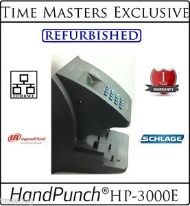 Ref Schlage Biometric Handpunch Hp 3000e W amg Employee Attendance Software