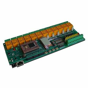 Wireless Wifi 12 Relay Channel Output Adc I o Module Board Home Automation