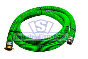 2 X 20ft Epdm Rubber Pin Lug Suction Hose With Free Shipping