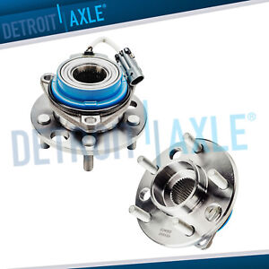 2 Front Wheel Hub Bearing Assembly Buick Chevy Pontiac Cadillac Olds W Abs