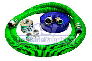 3 Epdm Mud Suction Hose Camlock Kit W 50 Blue Discharge Hose fs