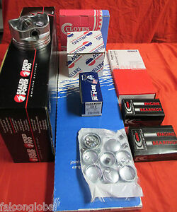 Ford 289 302 High Performance Engine Kit 030 Pistons E949p Cam Stage 2