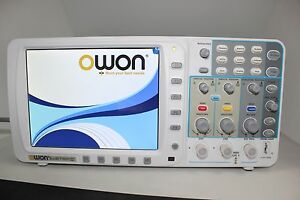 Low Noise Owon 100mhz Oscilloscope Sds7102 1g s Large 8 Lcd Lan vga battery Usa