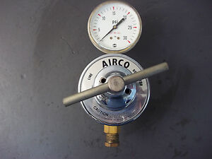 Airco Line Regulator With Gauge 5 30psi 805 9996 Nos
