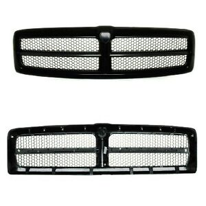 Replacement Grille Fits Dodge Ram 99 02 aftermarket