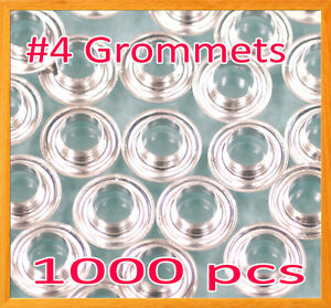 1000 4 1 2 Grommet And Washer Nickel Eyelet Grommets Machine Sign Punch Tool