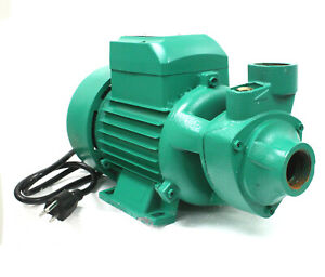 Lift 26ft 1hp 110v Clear Water Pump 13gpm 4 Pool Pond Centrifugal Transfer Pump