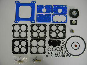 Holley 4160 Performance Carburetor Rebuild Kit Vacuum Secondary 600 750