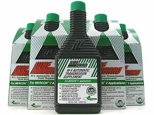 Lubegard M V Automatic Transmission Oil Fluid Supplement Mercon V Synthectic Atf