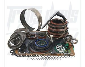 4l60e Chevy Transmission Powerpack Red Eagle Dlx Rebuild Kit Shallow Pan 1997 03