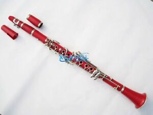 High-grade ABS soprano Clarinet Bb Red Great material
