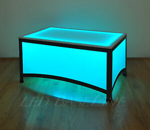 17 5 Led Arches Coffee Table Bar Modern Color Changing