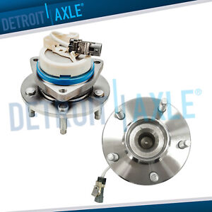 Both 2 New Rear Wheel Hub Bearing Assembly For Buick Rendezvous Fwd W Abs