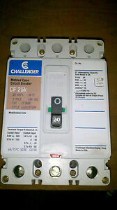 Challenger 20a 600v 3 Pole Circuit Breaker