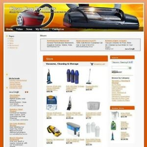 Established Clean Care Store Affiliate Business Website For Sale Free Domain