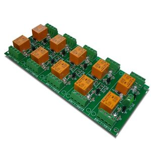 Ten Relay Board Card For Your Avr Pic Project 12v