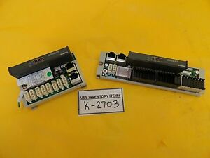 Dns Dainippon Screen Ds 1211 analog I o Pcb Modules Ds 1608 tr Set Of 2 Used