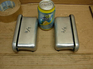 1960s Mickey Thompson 6 3 4 Valve Cover Breathers Lg M ts Breather Street Rod
