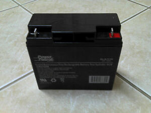 Extreme Power Patrol Generator Battery 12v 18ah Sla