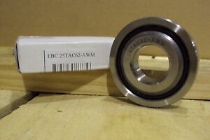 Precision Ball Screw Support Bearing 25tac62